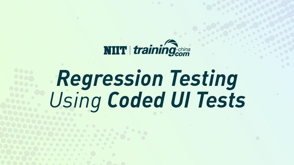 (MTC)Regression Testing Using Coded UI Tests