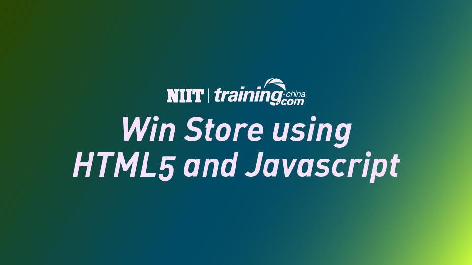 (MTC)Win Store using HTML5 and Javascript