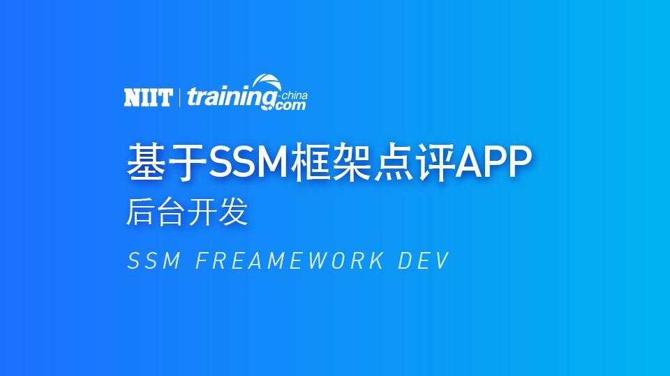 (MTC)基于SSM框架点评APP后台开发