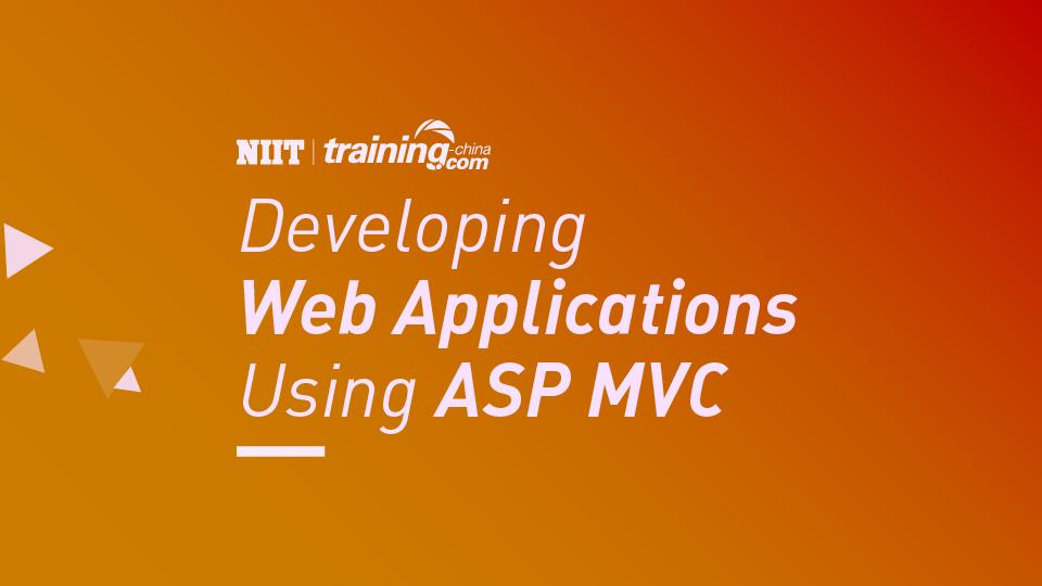 (MTC)Developing Web Applications Using ASP MVC