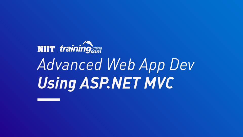 (MTC)Advanced Web App Dev Using ASP.NET MVC
